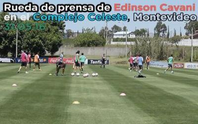 Cavani: 'Uruguay defenderá su identidad en la Copa América'