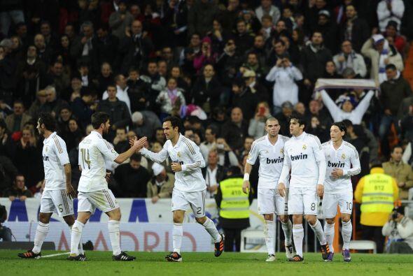 Real Madrid respiraba con el empate pero quería más.