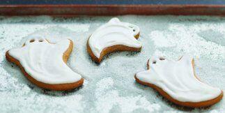 GALLETAS FANTASMA - Tus niños se divertirán cocinando estas galletas. Lo...