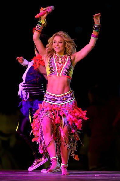 La colombiana quedó fascinada con el 'modelito' pues pudo mover l...