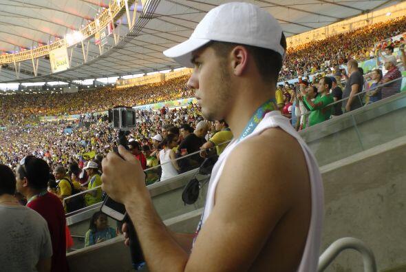 Will estuvo atento a cada aspecto del juego, para asegurarse de traer lo...
