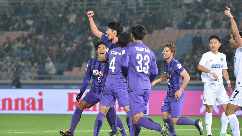 El Sanfrecce Hiroshima nipón batió por 2 a 0 al Auckland City