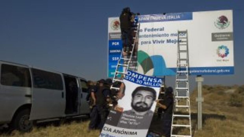Las autoridades mexicanas siguen su ofensiva en contra del cártel narcot...