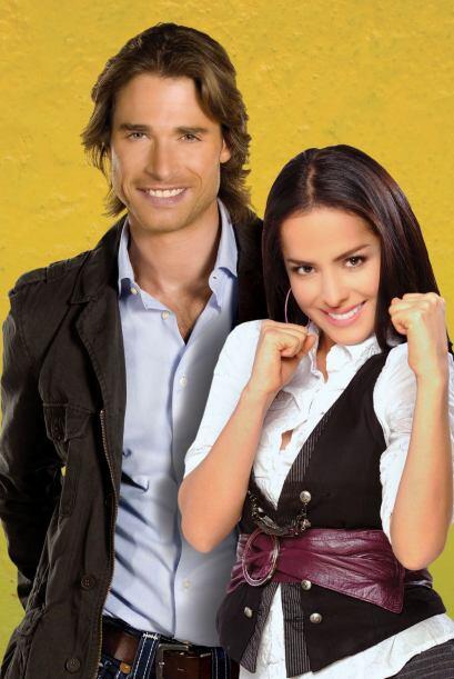 Danna García se enamoró de este galán argentino sobre el ring.