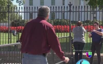 Se cuestiona la seguridad de la Casa Blanca