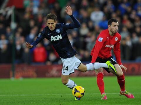 El Manchester United causaba alborotos en territorio galés con su...