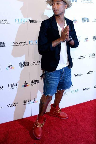 El autor de 'Happy', Pharrell apareció en la quinta posici&oacute...