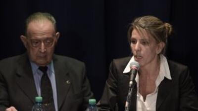 Los peritos de la mujer del fiscal, la jueza Sandra Arroyo, creen que Ni...