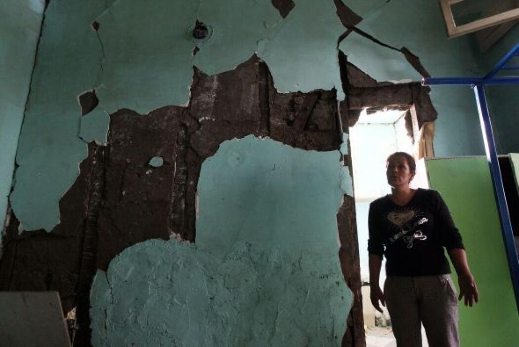 La región ha sido afectada por miles de réplicas en el último año. Una d...