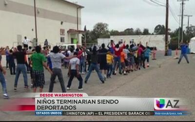 Niños indocumentados serían deportados