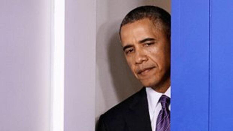 El presidente Barack Obama espera un informe del Departamento de Segurid...