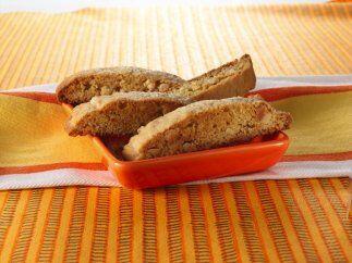 Biscotti de jengibre y almendras. Esta receta es un clásico italiano par...