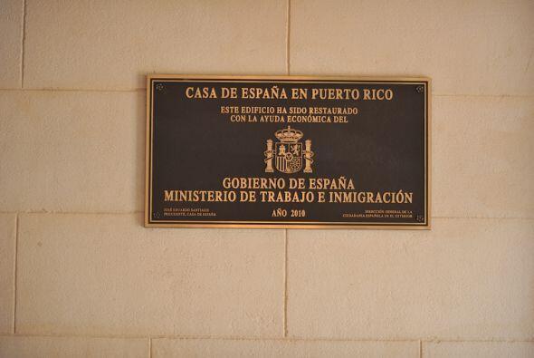 Casa de España en San Juan, Puerto Rico, es un lugar histó...