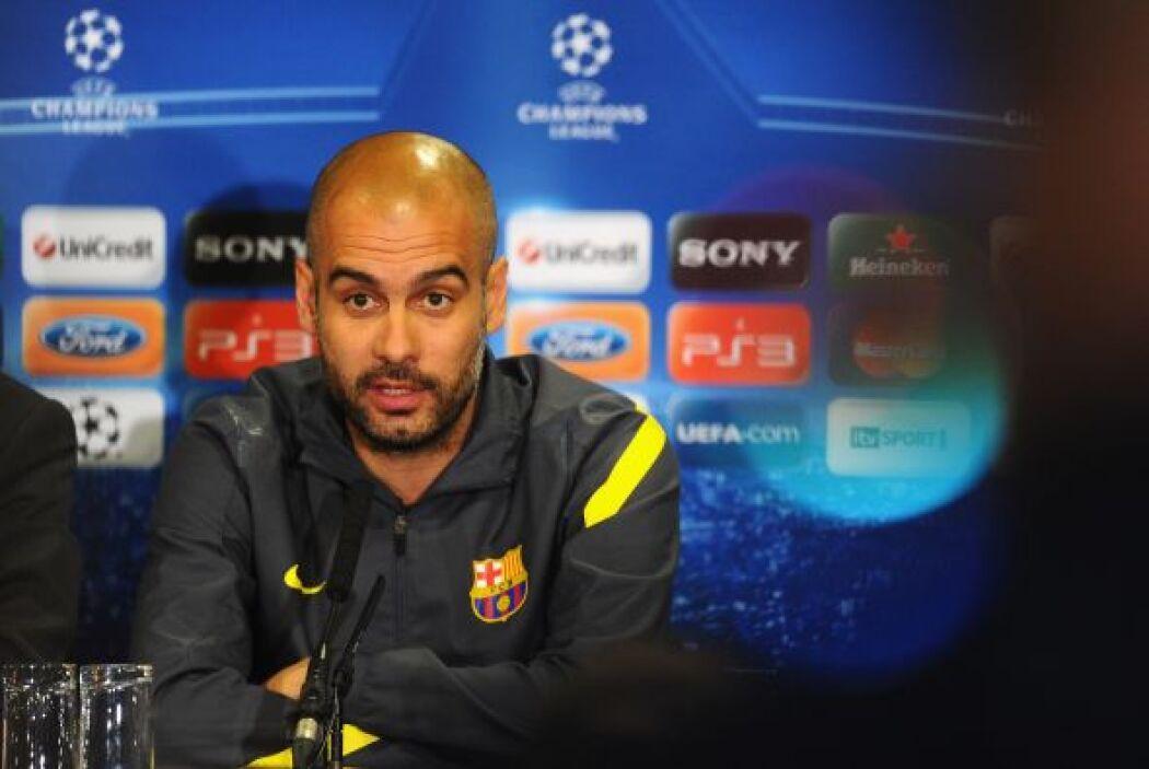 """En consecuencia Guardiola respondió: """"Él es el puto jefe y el puto amo a..."""