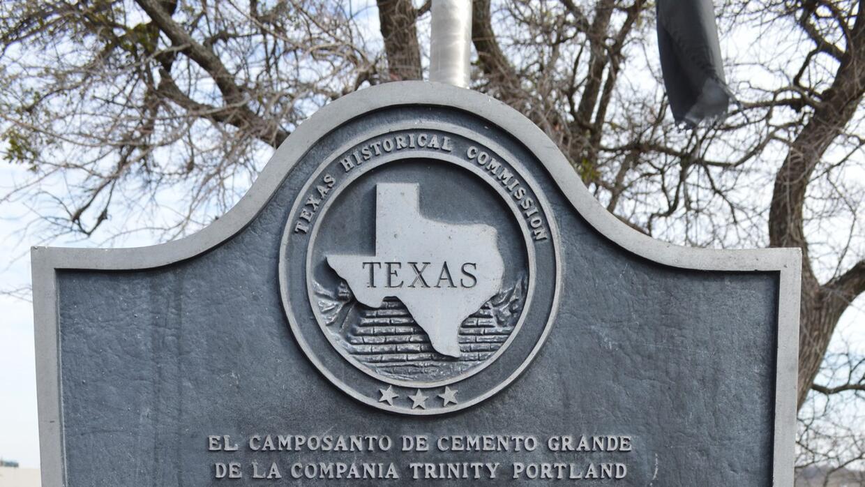 Cementererio de inmigrantes mexicanos en Dallas