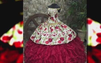 Quinceañera Rubí Ibarra se puso el vestido que le envió diseñador de Dal...