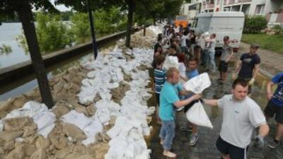 Inundaciones en Alemania.