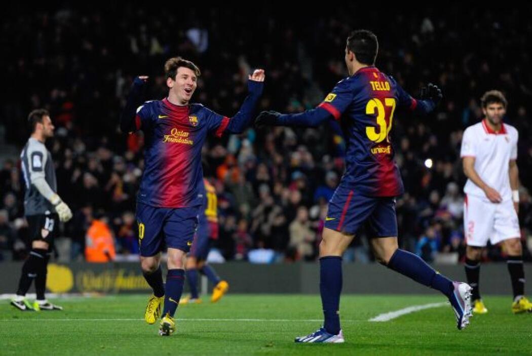 Es la 15 jornada consecutiva de Messi anotando en Liga, llega a 38 goles...