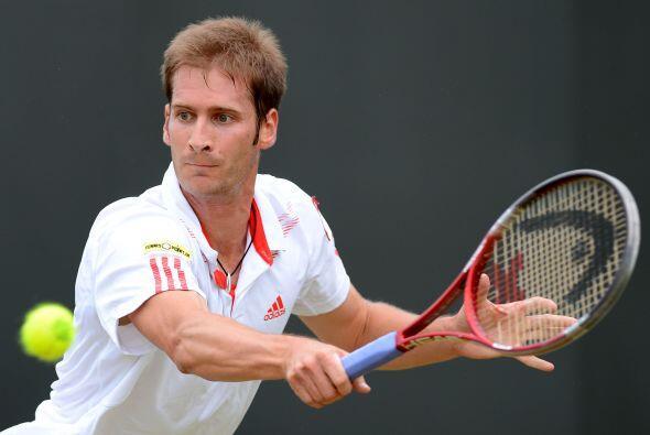 Mayer se enfrentará en los cuartos de final al serbio Novak Djokovic, nú...