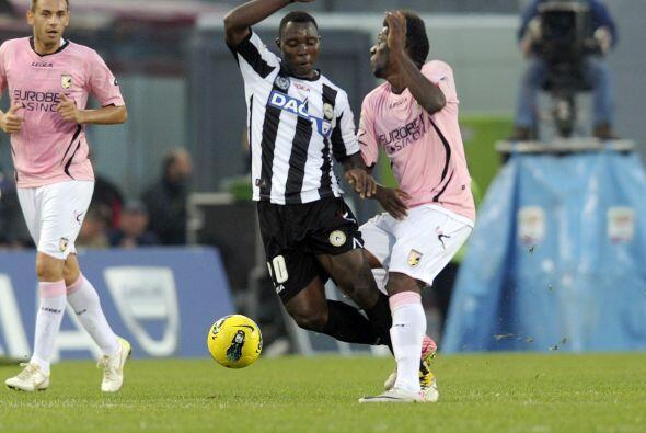 Aquí les tenemos las mejores imágenes de la fecha 9 de la Serie A italia...