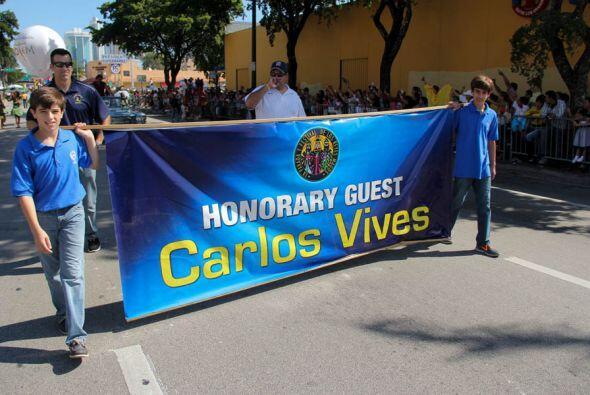 Y ya llego Carlos Vives!