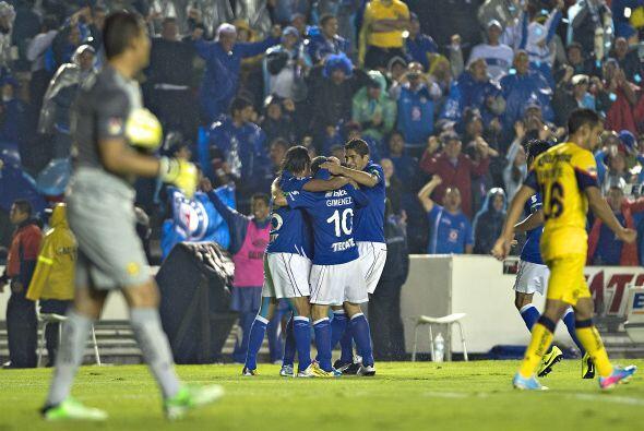 7.- En el partido de ida, con gol del 'Chaco' Giménez al minuto 1...
