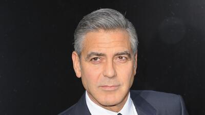¿Brad Pitt y George Clooney serán compadres?