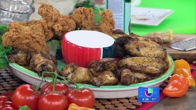 Receta de pollo empanizado agridulce