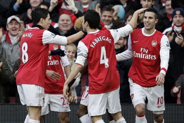 Otra de las goleadas de la fecha la protagonizó el Arsenal ante el Wigan.