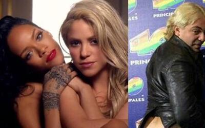 Las 5 de Ale, Rihanna y Shakira derramaron sensualidad y Cristian Castro...
