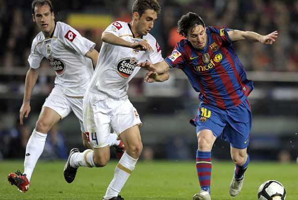 Barcelona recibió al Deportivo La Coruña con la confianza de llegar como...