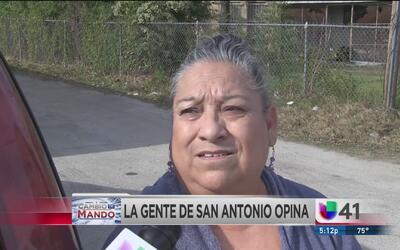 Gente de San Antonio opinan de la llegada del nuevo presidente