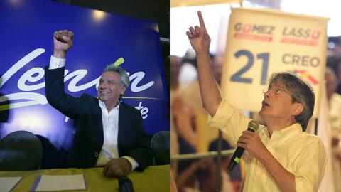 Resultados preliminares de las elecciones en Ecuador indican que habría...