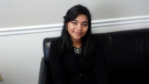 Sthefany Flores, una dreamer hondureña de Carolina del Norte.