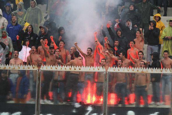 Pero los del Catania gozaron y disfrutaron un valioso triunfo.