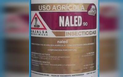 Naled, plaguicida propuesto para la asperjación contra el Aedes aeyipti...