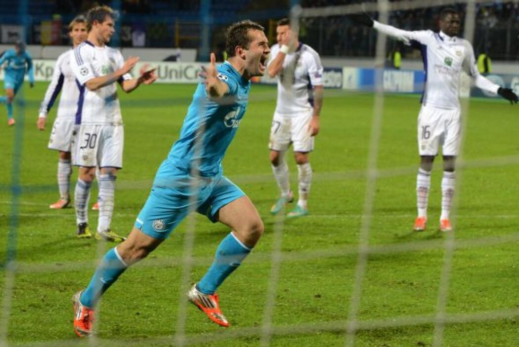 El Zenit de San Petesburgo abrió la fecha con su triunfo sobre el Anderl...