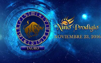 Niño Prodigio – Tauro 23 de Noviembre, 2016