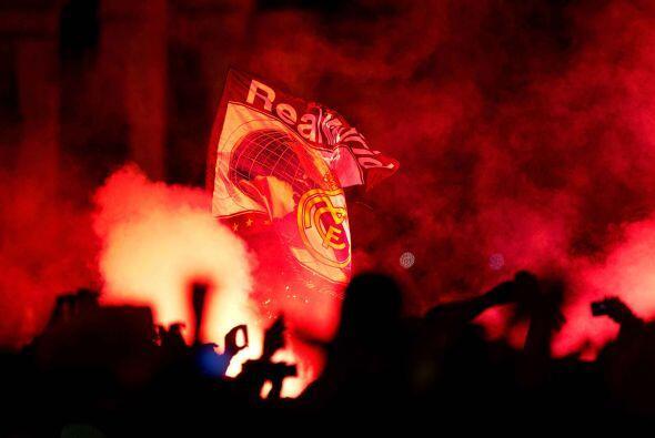 Real Madrid festejó la Décima en Cibeles
