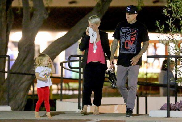 Pink y su esposo Carey estuvieron separados durante un tiempo, y al volv...