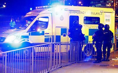 Una explosión en un concierto de Ariana Grande deja al menos 19 muertos...