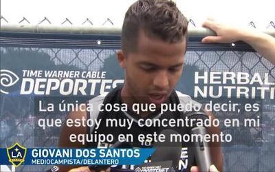 """Gio dos Santos: """"Me siento en buena forma"""""""