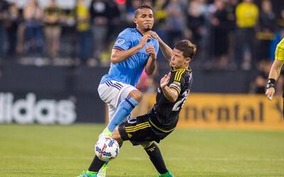 Yangel Herrera tuvo un sobresaliente debut como titular en NYCFC.