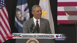 El balance de Obama a 10 años de Katrina