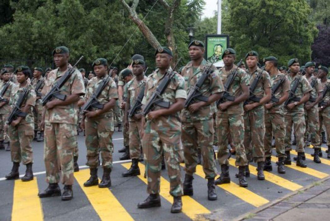 La sede del Gobierno de Sudáfrica, el Unions Buildings de Pretoria, está...