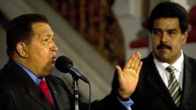 Nicolás Maduro, el hombre fuerte de Hugo Chávez.