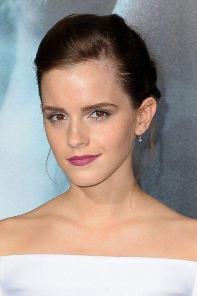¡Emma Watson es una joven actriz que no necesita tanto maquillaje para l...