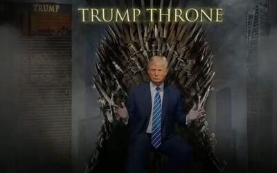 Trump es fanático de Game of Thrones