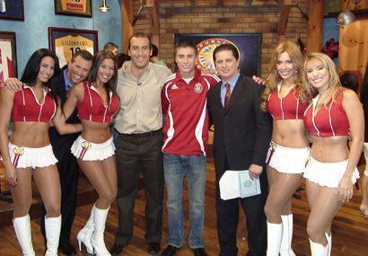Otra foto con el primer ganador del Sueño MLS, Jorge Flores.