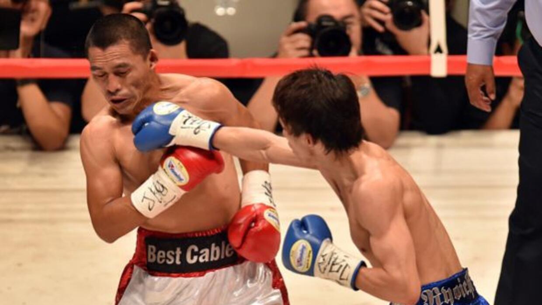 Tagushi fue muy superior a Alberto Rossel para despojarlo del título min...